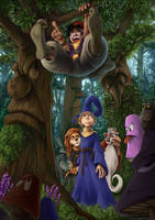 Woods of Wacky Welkers by Remainaery