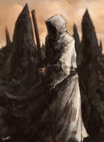 Creepy Cleric by Remainaery