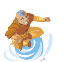 Aang for Engelszorn by Remainaery