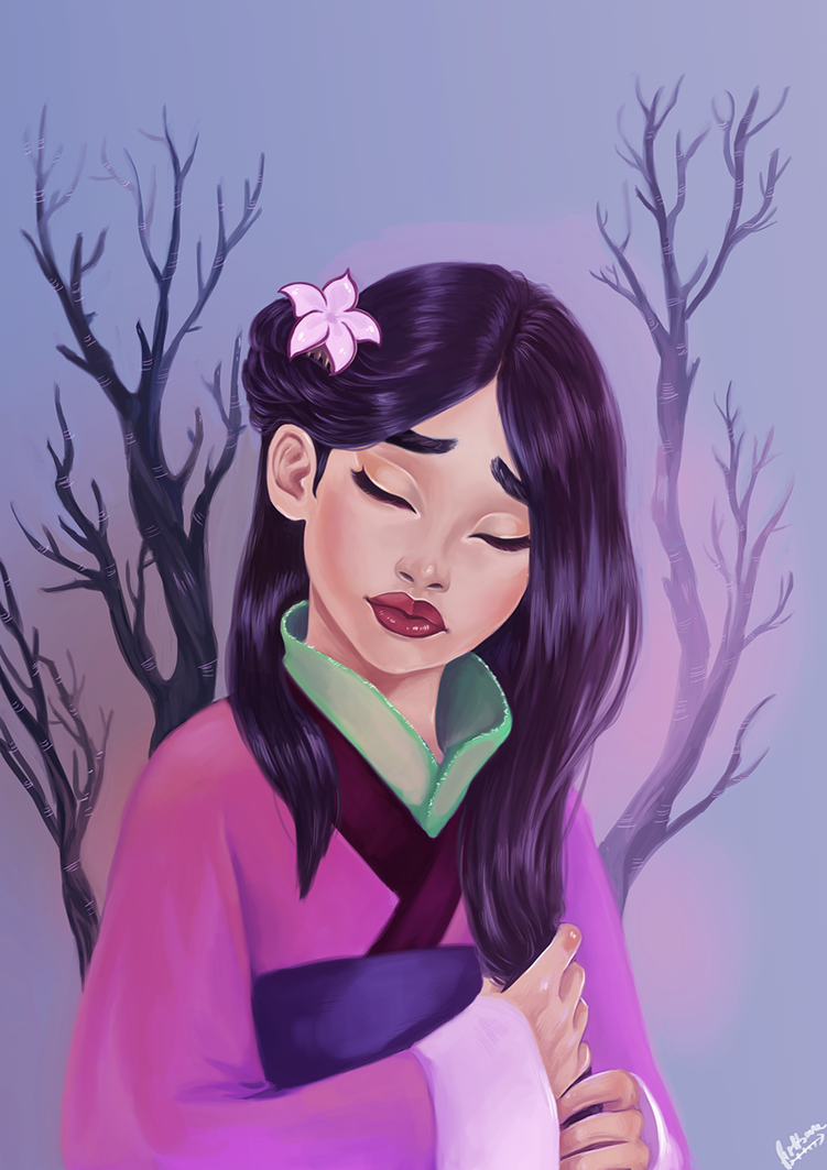 Mulan by FishboneArt