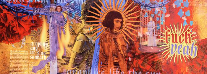 Met Gala Zendaya header: The Sun (tarot)