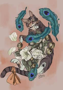 Neville the cat
