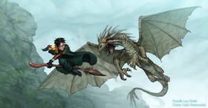 Harry Potter and the Horntail!