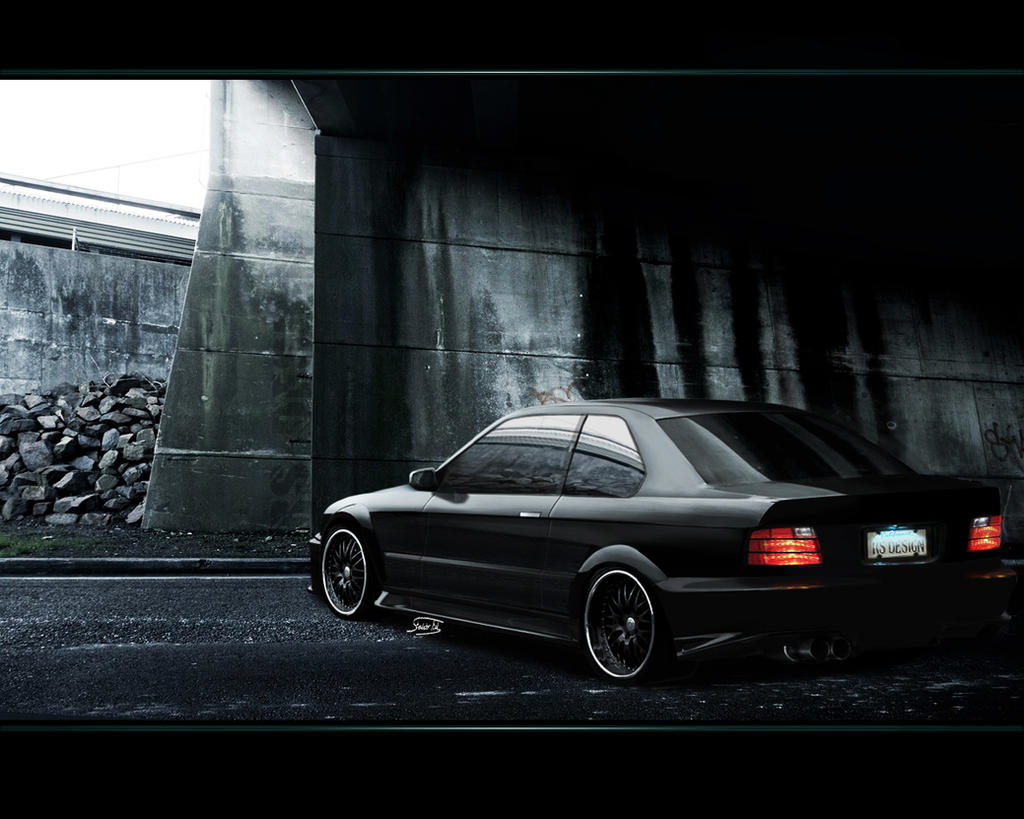 Bmw rear view by RS--Design