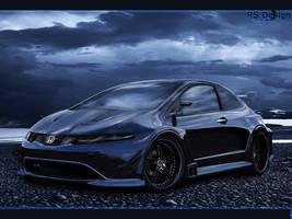 Honda Civic Blue dream
