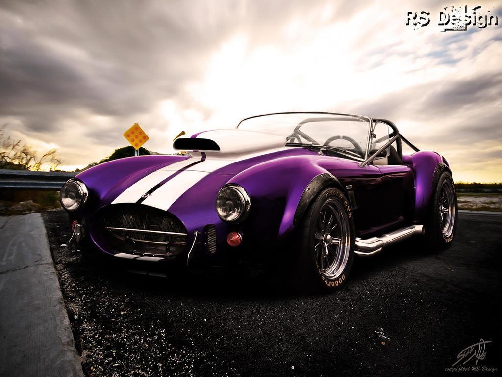 ford ac cobra deep purple by rs design on deviantart. Black Bedroom Furniture Sets. Home Design Ideas