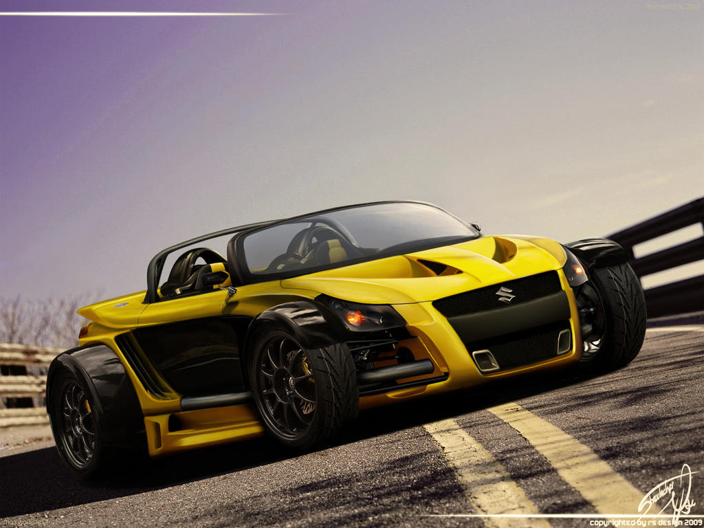 suzuki yellow hornet gtr by rs design on deviantart. Black Bedroom Furniture Sets. Home Design Ideas