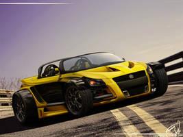Suzuki Yellow Hornet GTR by RS--Design