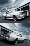 Ford Mustang White Eleanor