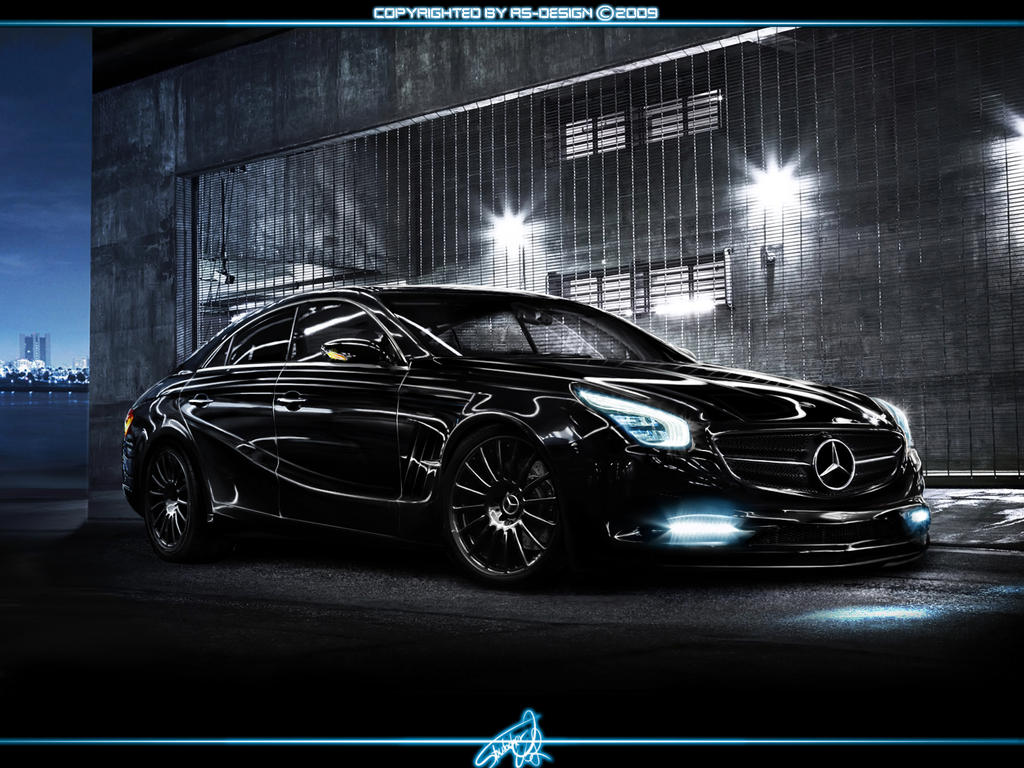 mercedes benz cls concept 1 by rs design on deviantart