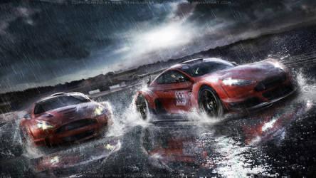 Aston Martin racing scene