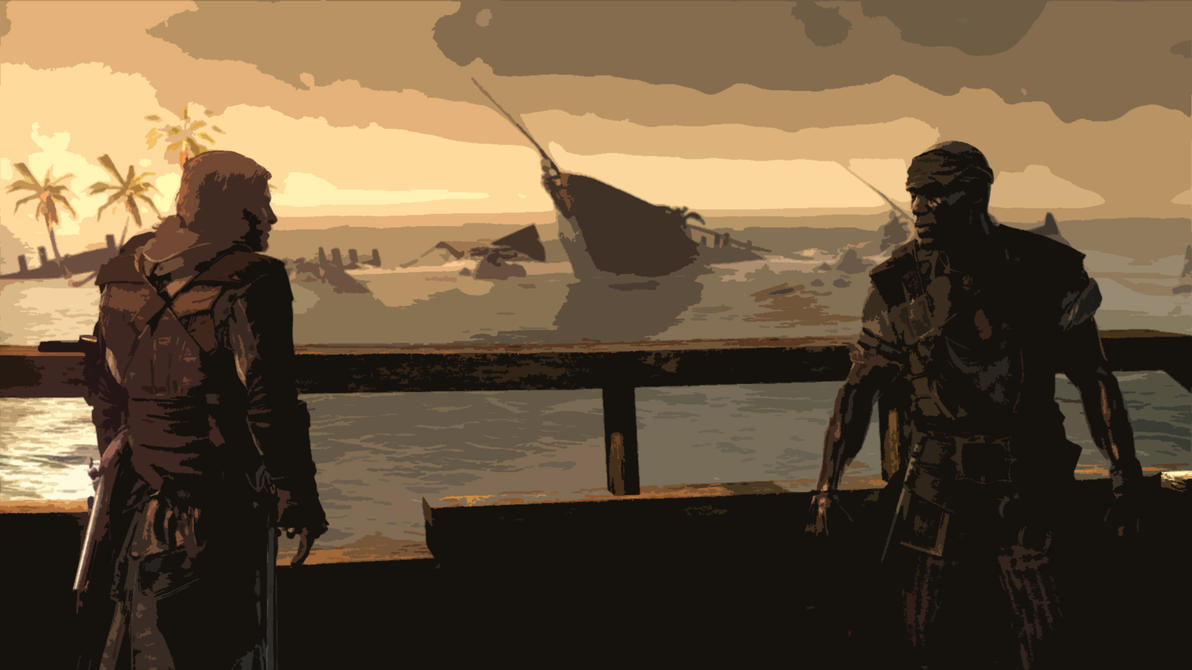 Kenway And Adewale by Sersen