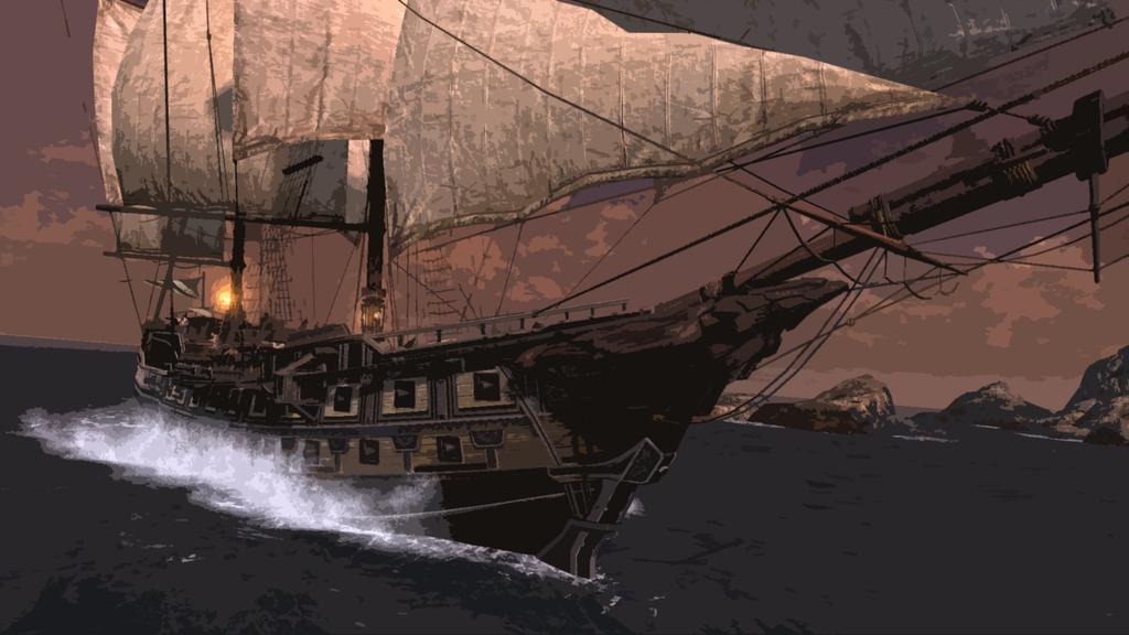 Eagle Ship by Sersen