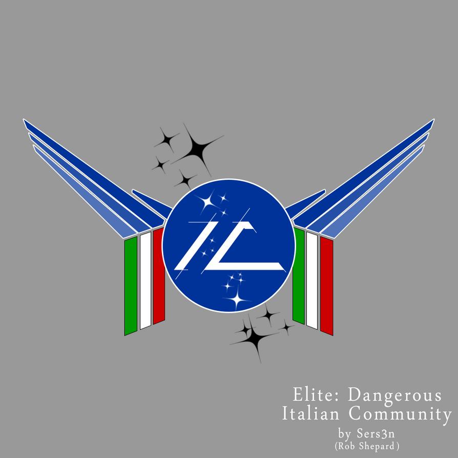 ED-Italian Community Logo by Sersen
