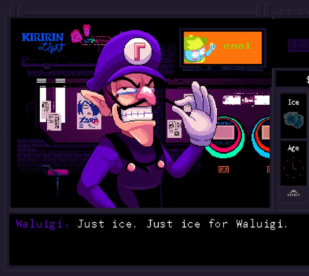 World of Nintendo Series 5 Waluigi 4 Action Figure Jakks ...  Ice Waluigi
