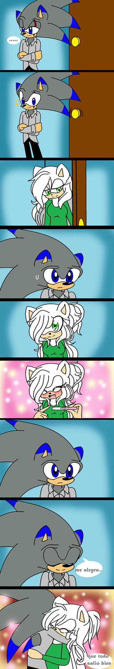 .:comic 2da pregnancy:. by cristinathehedgehog
