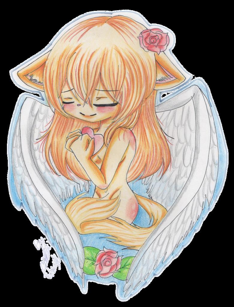 :Ellie:Beautiful Angel: LT by cristinathehedgehog
