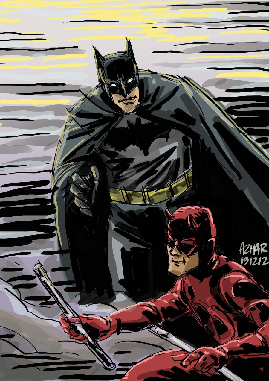 Daredevil batman crossover