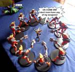 Ace VS Ratchet - no fair!