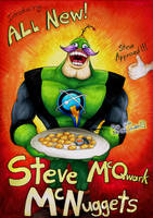 Steve McQwark McNuggets by Lurking-Leanne