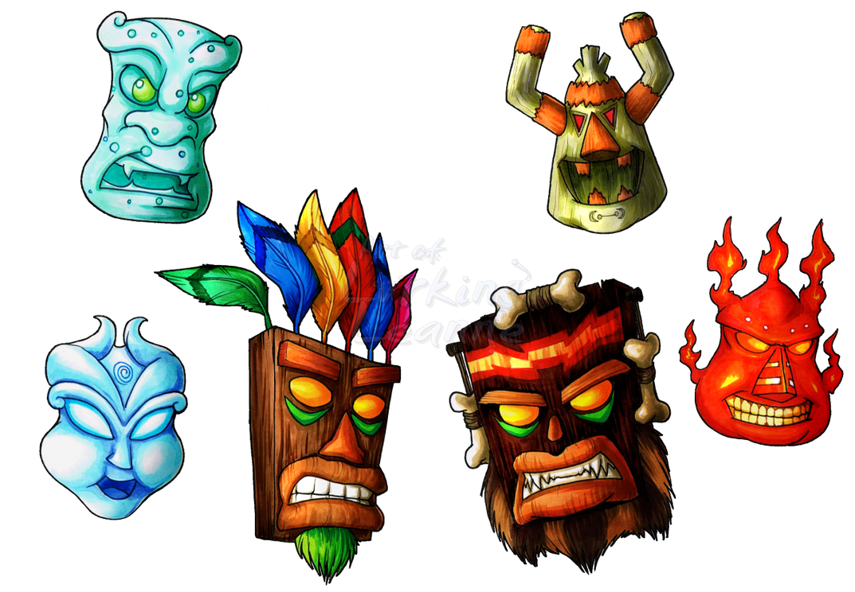 Metacheto vs SporeGlaizer [1] - Página 2 The_spiritual_masks_by_lurking_leanne-d86x92z
