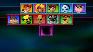 Crash Bash - Choose your player!