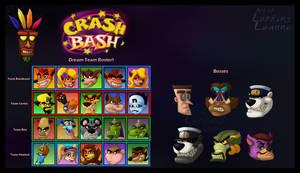 CRASH BASH Dream Roster