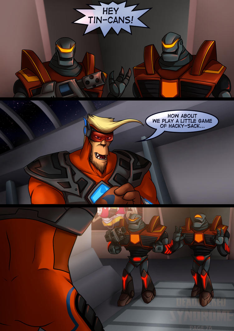 Deadlocked Syndrome Page 76 by Lurking-Leanne