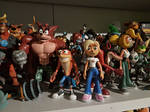 Bandicoot Team figures