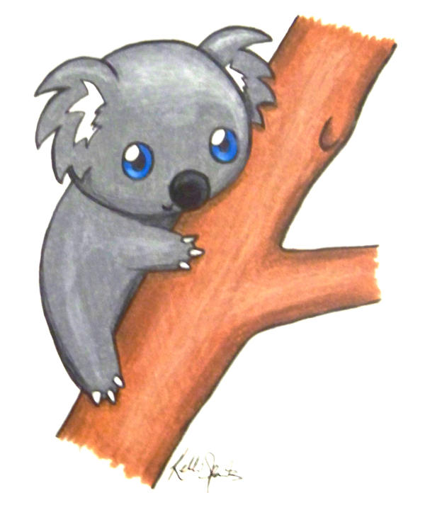 Cute Koala by GreenChikin on DeviantArt
