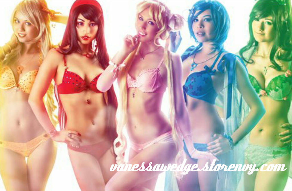 Sailor Moon Lingerie POSTER by stylechameleon