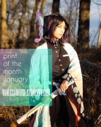 Shinobu Print of the Month (link below)