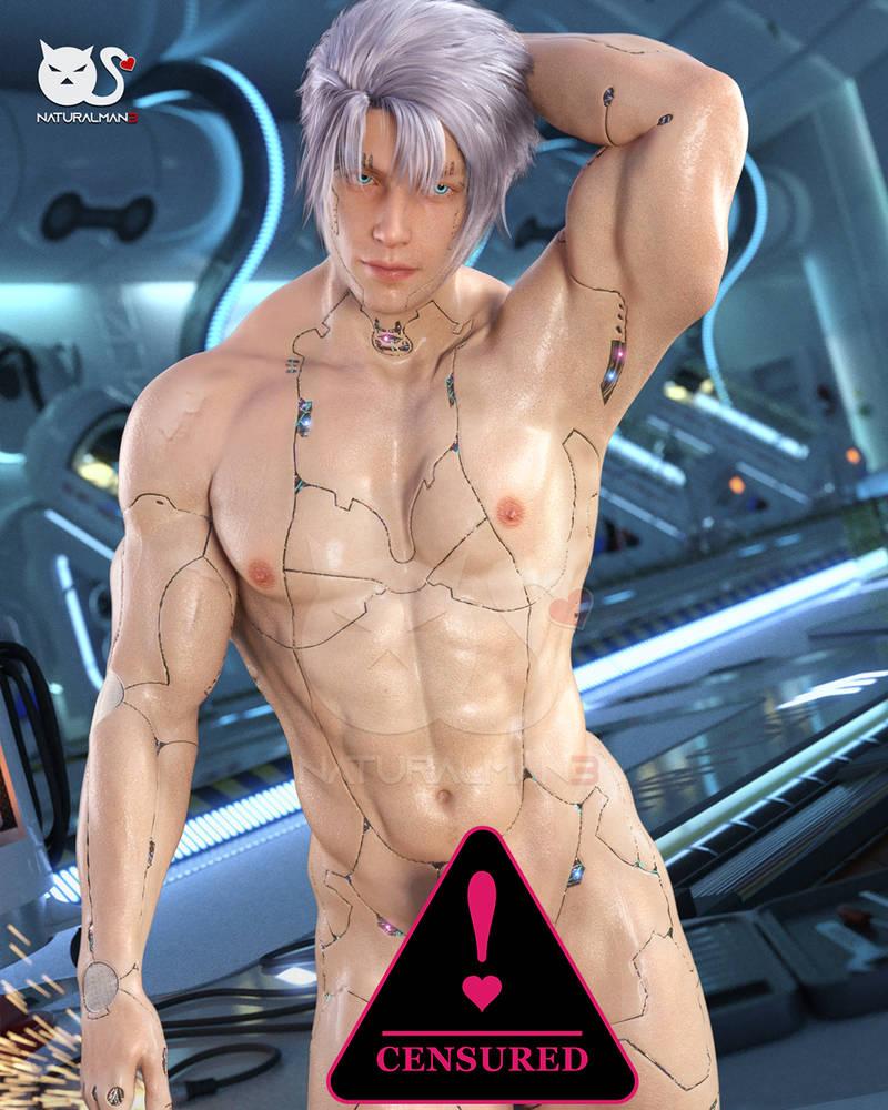 Cyborg model 2 medium erection