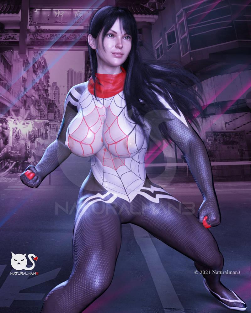Silk waiting for fight - Fanart
