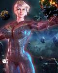 Captain Marvel - Fanart by Naturalman3