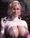 Spider Gwen - Fanart by Naturalman3