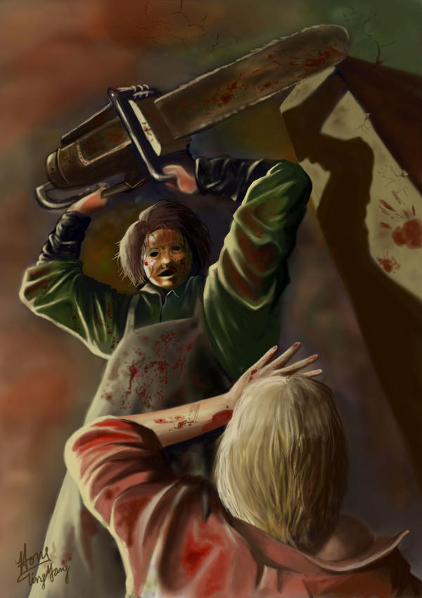 Texas Chainsaw Massacre by cheatingly