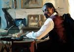 Portrait of Snoop Dogg