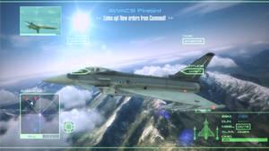 Concept - Ace Combat GUI