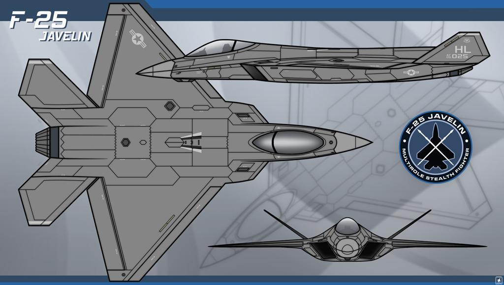 F-25 Javelin by Jetfreak-7 on DeviantArt