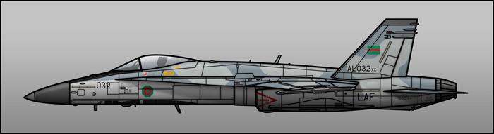 LAF Hornet by Jetfreak-7
