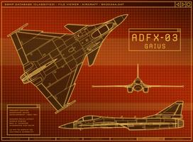 ADFX-03 Gaius by Jetfreak-7