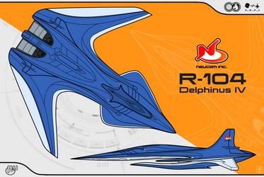 R-104 Delphinus IV by Jetfreak-7