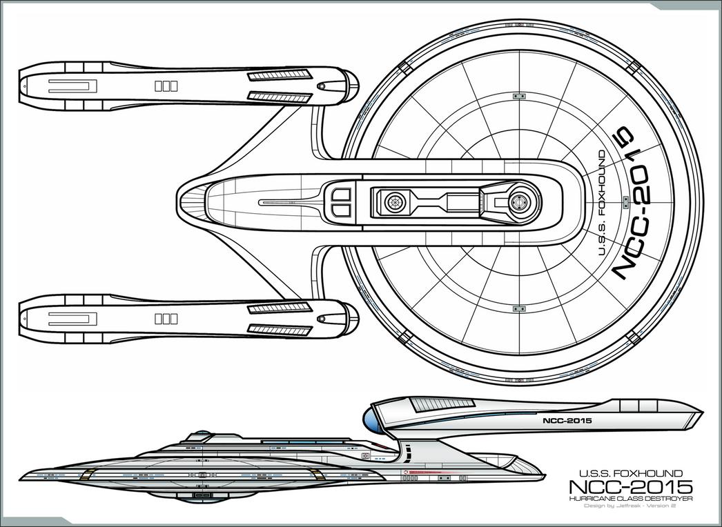 Hurricane Class Destroyer by Jetfreak-7