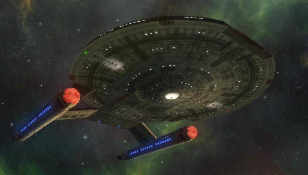 Starship Poseidon by Jetfreak-7