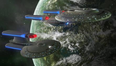 Fleet Escort by Jetfreak-7