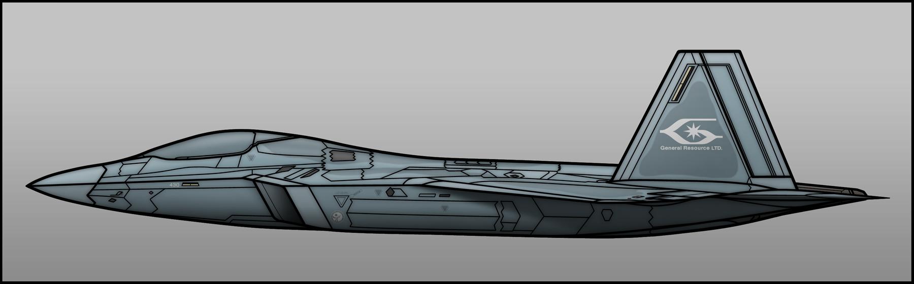 F-22C Raptor II by Jetfreak-7