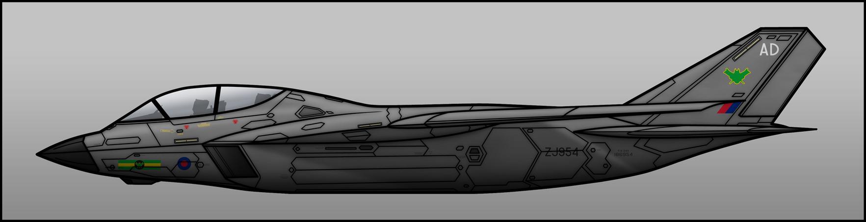 RAF Spectre by Jetfreak-7