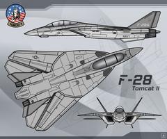 F-28 Tomcat II by Jetfreak-7