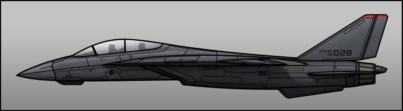 ROKAF F-28A by Jetfreak-7